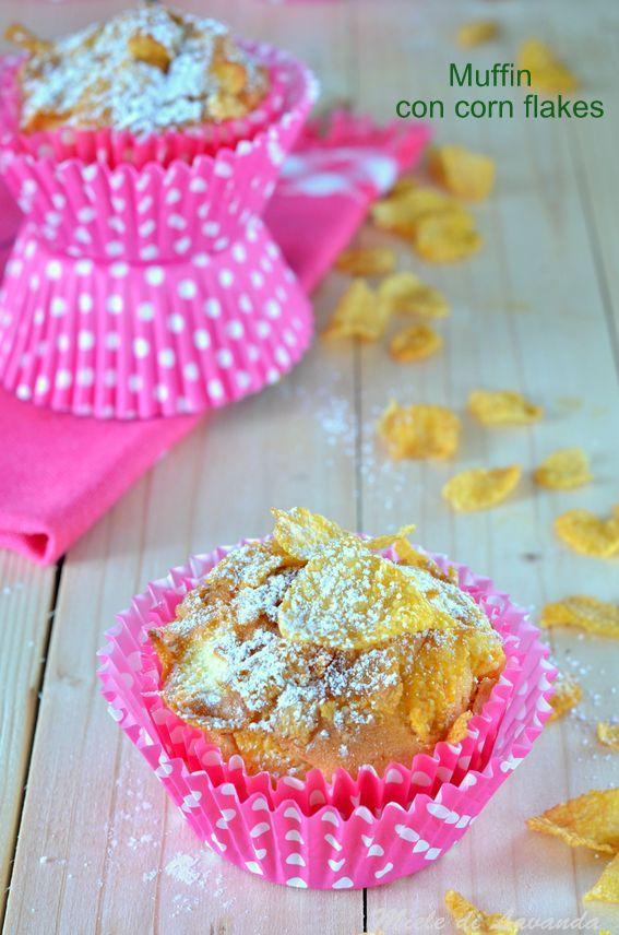 muffin con corn flakes