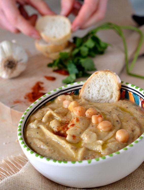 Hummus di ceci al profumo di paprika dolce