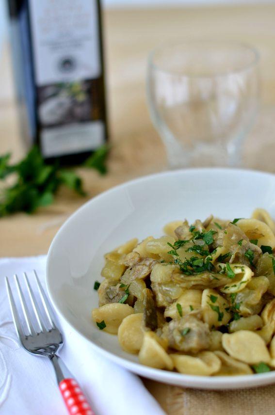 Orecchiette con carciofi e patate ricetta semplice e veloce