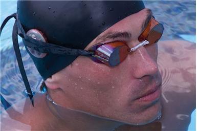 metronomo per nuotatori