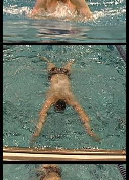 Elastico da nuoto frenato