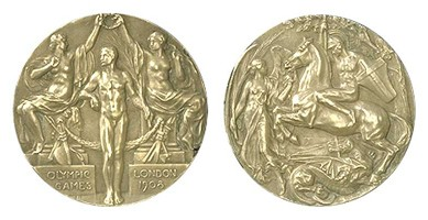 medaglia olimpiadi 1908