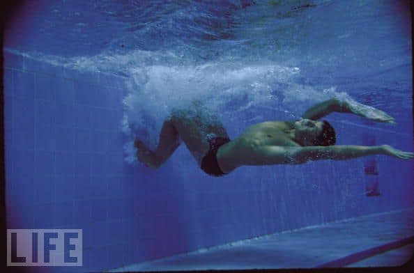 john konrads nuoto virata