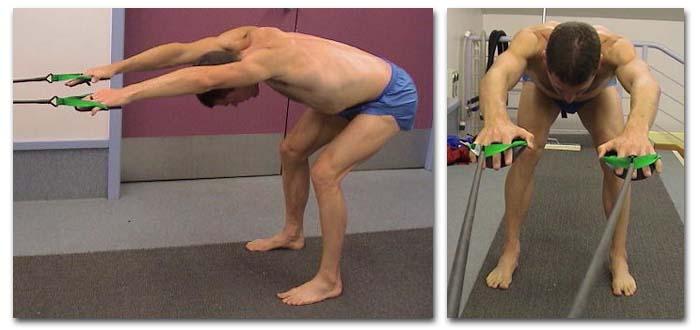 elastici allenamento nuoto secco palette strechcordz