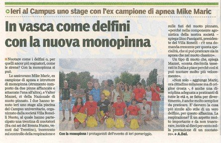 clinic FOIL monopinna Maric Mazzei Bonin Swimmershop FINIS