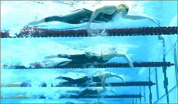 fase presa nuoto