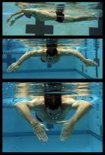 remate orizzontali allenamento nuoto esercizio esercizi swimmershop FINIS snorkel frontale