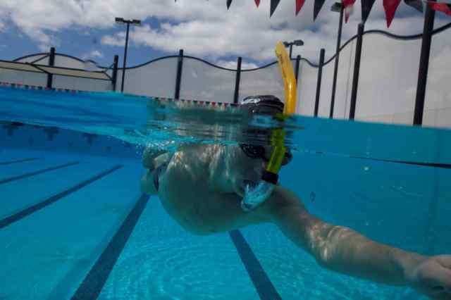 Henri Schoeman consigli FINIS nuotatori snorkel swimmershop