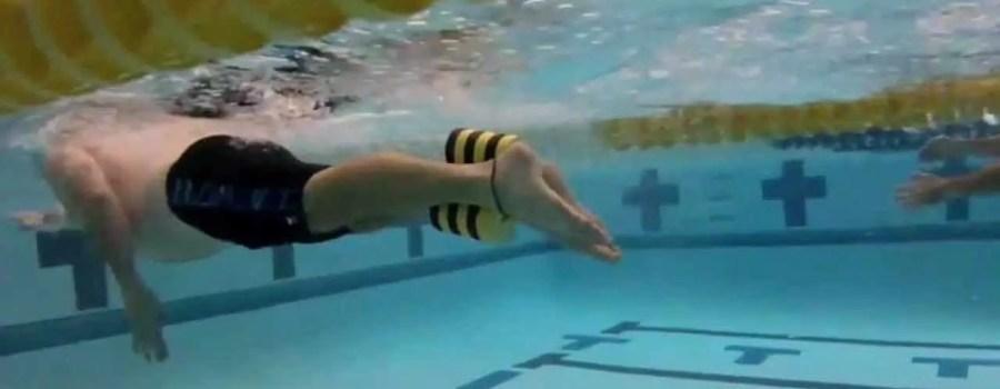 equilibrio a Stile Libero con pull buoy