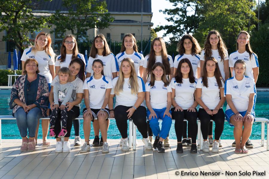 Categoria Juniores e Senior Nuoto Sincronizzato