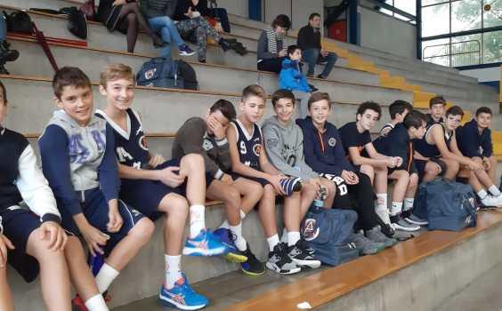 U13 Top: Argentia Agrate 47 – 42