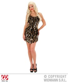 Party - vestito in paillettes - cod. 9483