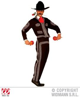 Mariachi - giacca, pantaloni, cappello, cravatta - cod. 4411