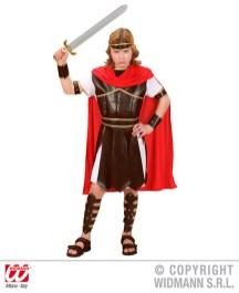 Ercole - tunica con armatura, cintura, mantello, bracciali - cod. 7310