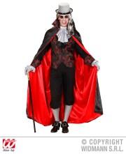 Vampiro - camicia con gilet, jabot, mantello - cod. 8942