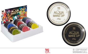 Aqua make up: espositore- cod. 9255X / bianco 9230A / nero 9231B - 6,00 € cad.