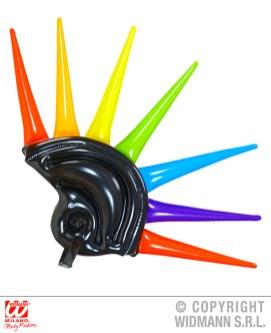 Casco con spunzoni multicolore - cod. 01459 - 10,00 €