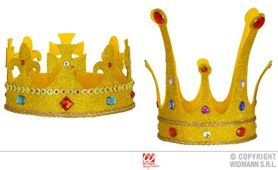 Corona reale glitter - cod. 9086F / 9088H - 10,00 € cad.