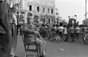 1974. Umberto Terracini alla Festa de l'Unità a Genzano