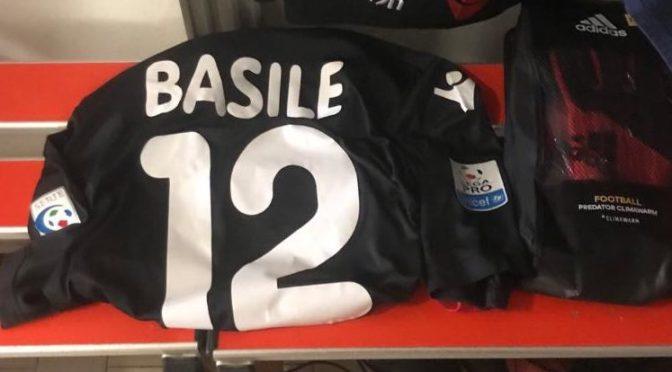 Gioia per Umberto Basile, convocazione ufficiale come secondo portiere col Piacenza in Serie C