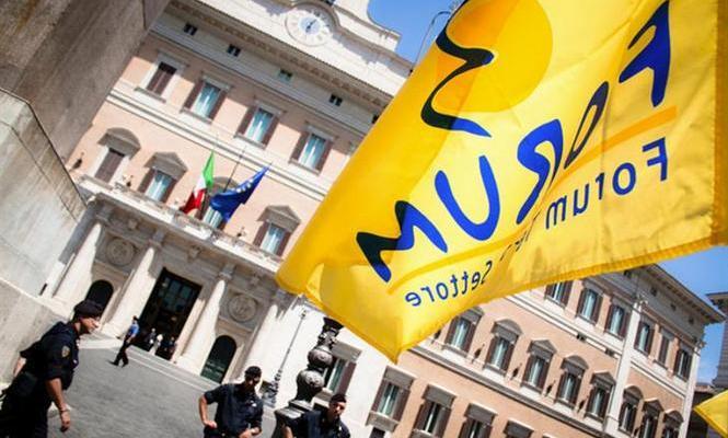 """Il Forum del Terzo settore ha aderito alla mobilitazione """"L'Italia è più grande di qualsiasi muro"""""""