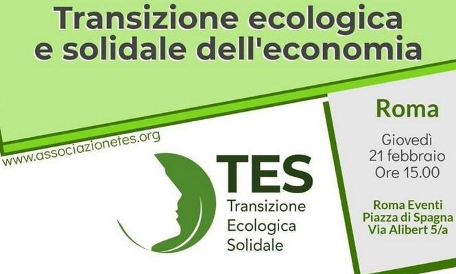 Nasce Tes: far ripartire il Paese con la transizione ecologica e solidale