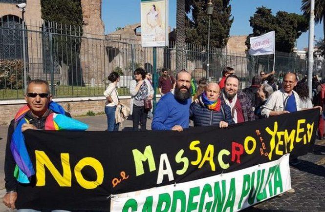 Sardegna Pulita alla manifestazione a Roma: il lavoro deve dare vita non morte