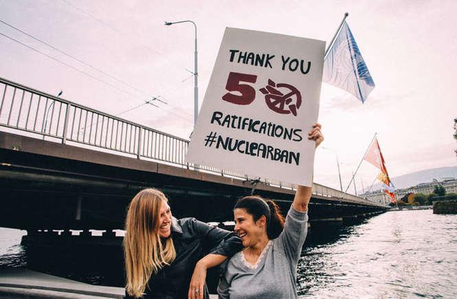 L'umanità può festeggiare: le armi nucleari saranno proibite