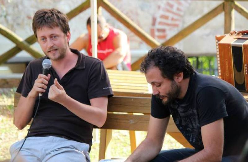 Andrea Degl'Innocenti, Daniel Tarozzi, bene e il male, libro