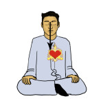 Meditation, HU Logo 2 Divine Heart muraqaba