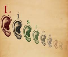 Listen - ears in diff sizes