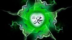 Muhammad (s), ocean of power, green light