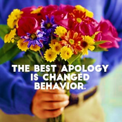 Change Behavior Apologize Apology Sorry