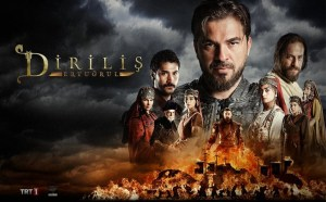 Dirilis Ertugrul Poster Adab of Throne Show