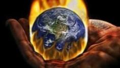 Hand holding earth on fire, awliya, insan kamil