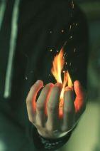 Hold coal Fire - Religion faith