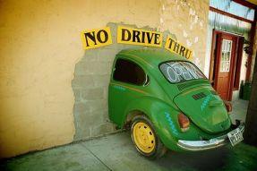 No Drive Thru Prayers Hit Wall