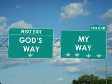 Sign from God Way Your Way Take Your Path