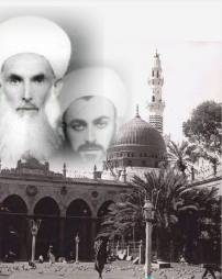 Sultan Awliyas Overlay Madina Background