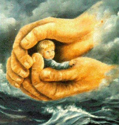 Spiritual hands of Protection