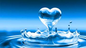 heart-waterdrop, angelic, energy, water