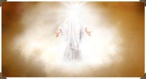 jesus glowing face