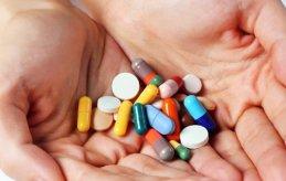 mixed medicine,different pills togather