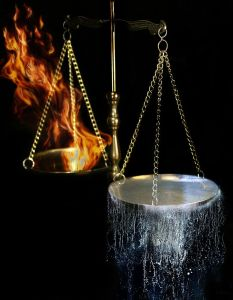 scale - Balance fire and water