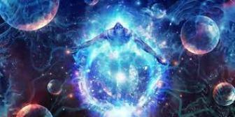 Soul in ocean of power,cleansing water