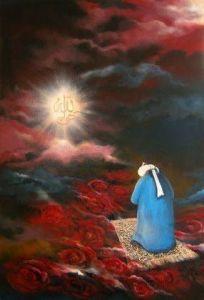 sufi saint praying