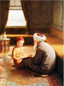 sufi shaykh teaching student,mureed , shaykh