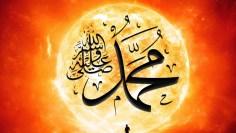 sun_man_Muhammad (s) in sun