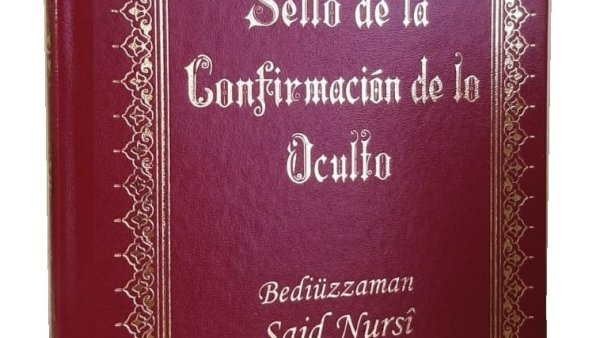 SELLO DE LA CONFIRMACION DE LO OCULTO–SİKKE-İ TASDİK-İ GAYBİ– İSPANYOLCA