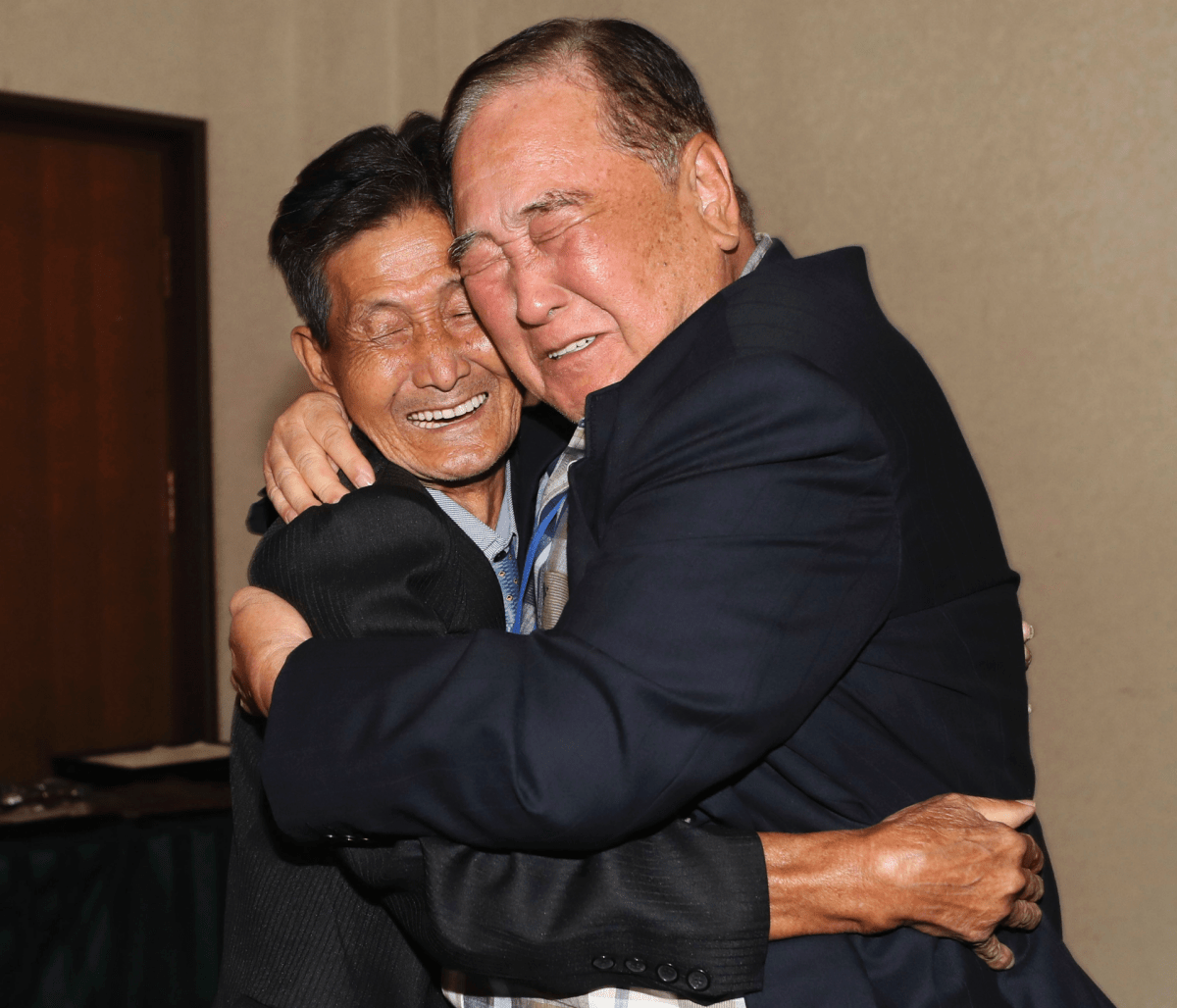 'Way too short:' A 93-year-old meets his N. Korean brother